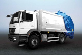 Recycling Garbage Truck EcoTwin | HidroMak | Turkey