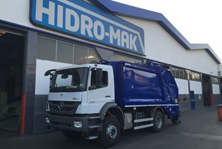 Garbage Truck (Split Body for Recycling ) Manufacturer