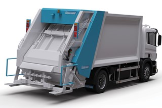 Rear Loading Hydraulic Garbage Compactors