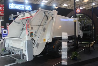 13+1,5m3 Garbage Body | Ifat 2016 | Germany | Hidromak