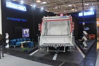 13+1,5m3 Garbage Truck Body | Ifat 2016 | Germany | HidroMak