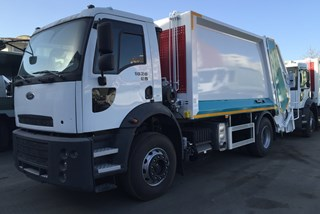 15+1,5m3 RCV Garbage Body | Ford 18.26 Euro5