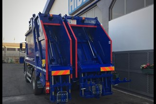 Double Rear Gate Refuse Compactor