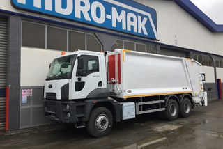 Rear Loader Refuse Truck | Ford Cargo 35.43 6x2