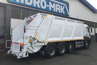 Rear Loader RCV for Industrial Type Waste