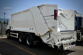 Georgia Refuse Compactor | Rear Loader | MAN Truck